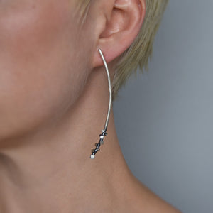 Long Rock Candy Earrings