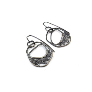 Small Filigree Circle Hooks