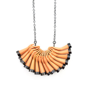 Crescent Hand Necklace