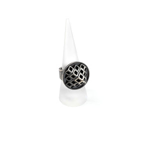 Pyramid Tube Ring