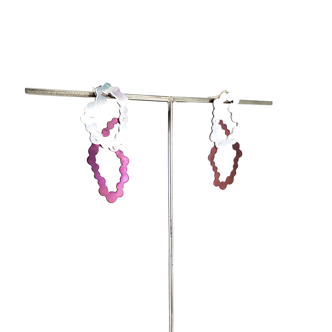 Pink Niobium Overlapped Loop Dangles