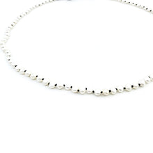 Load image into Gallery viewer, Oxidized White Pearly Chain