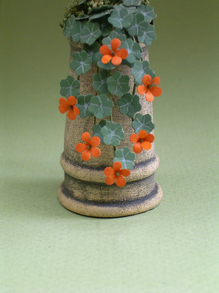 Weathered Terracotta Chimney Pot 1/2th scale