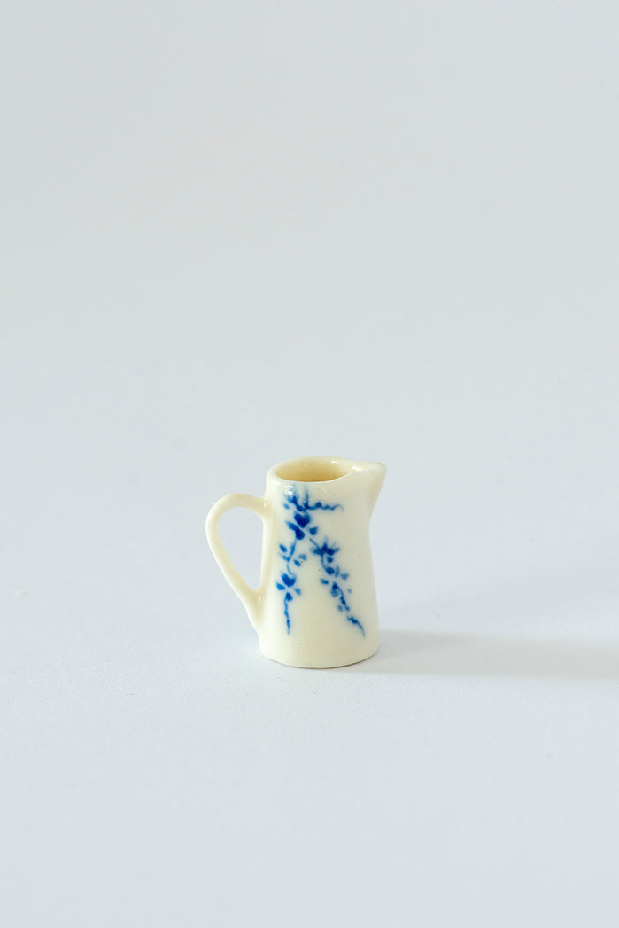 Blue and White China Jug in 1/12th scale