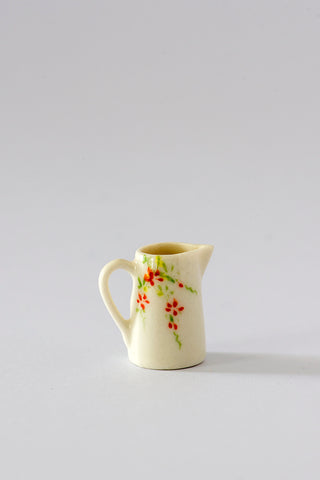 Floral China Jug in 1/12th scale