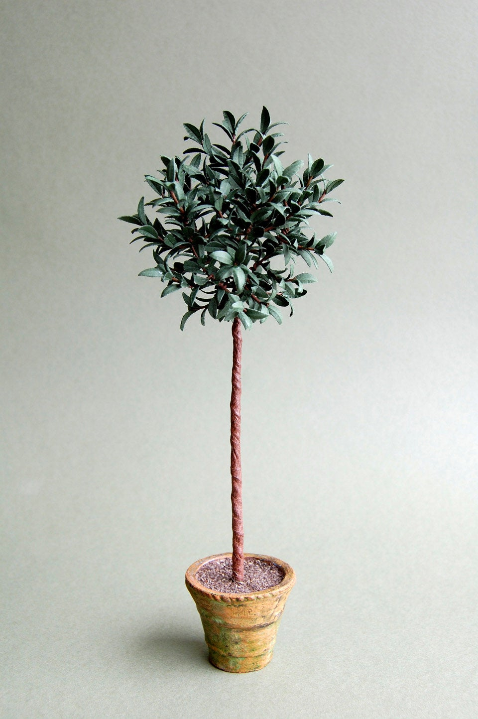 Bay Tree Paper Tree Kit  for 1/12th scale Dollhouses, Florists and Miniature Gardens