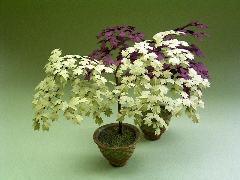 Acer Palmatum Paper Tree kit for 1/12th Dollhouses, Florists and Miniature Gardens