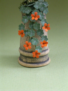 Nasturtiums Kit  for 1/12th scale Dollhouses, Florists and Miniature Gardens
