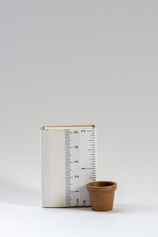 Large Aged Flowerpot in 1/12th scale