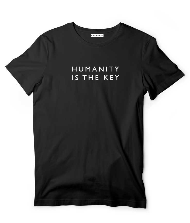 Humanity is the key - Men T-shirt