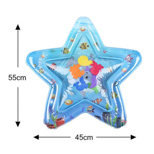 Inflatable Infants Tummy Time Activity Mat Baby Play Water Mat Toys for Kids Mat Summer Swimming Beach Pool Game Baby Gyms Mat