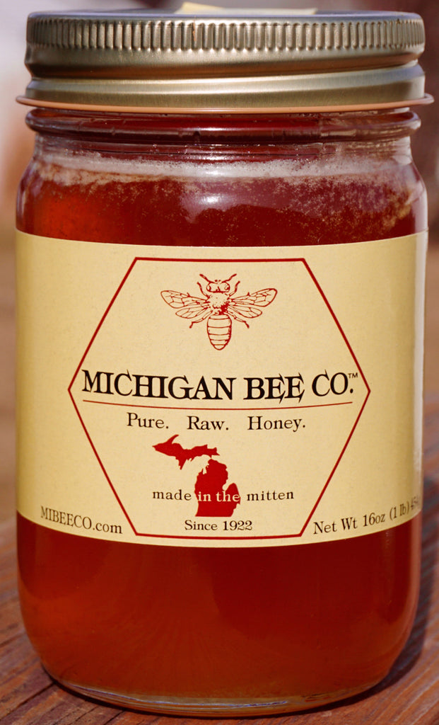 Pure Raw Honey -  2 One Pound Jars
