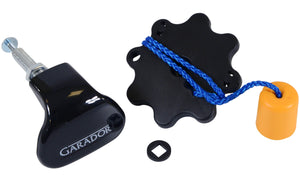 Garador black plastic handle