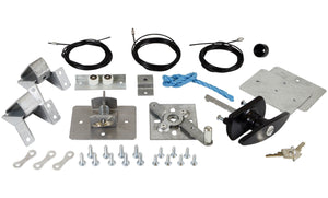 Canopy door lock pack