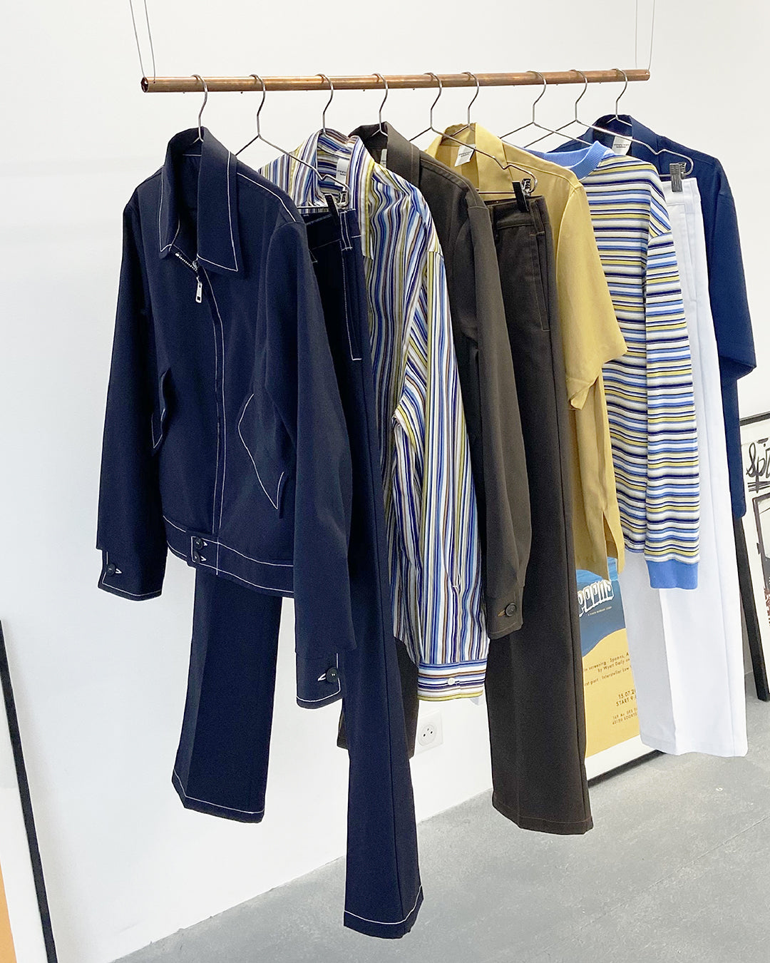 SS21 Parisian showroom