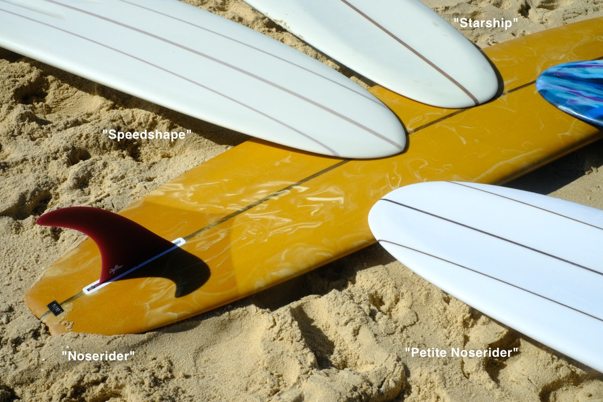 Surfboards for small waves