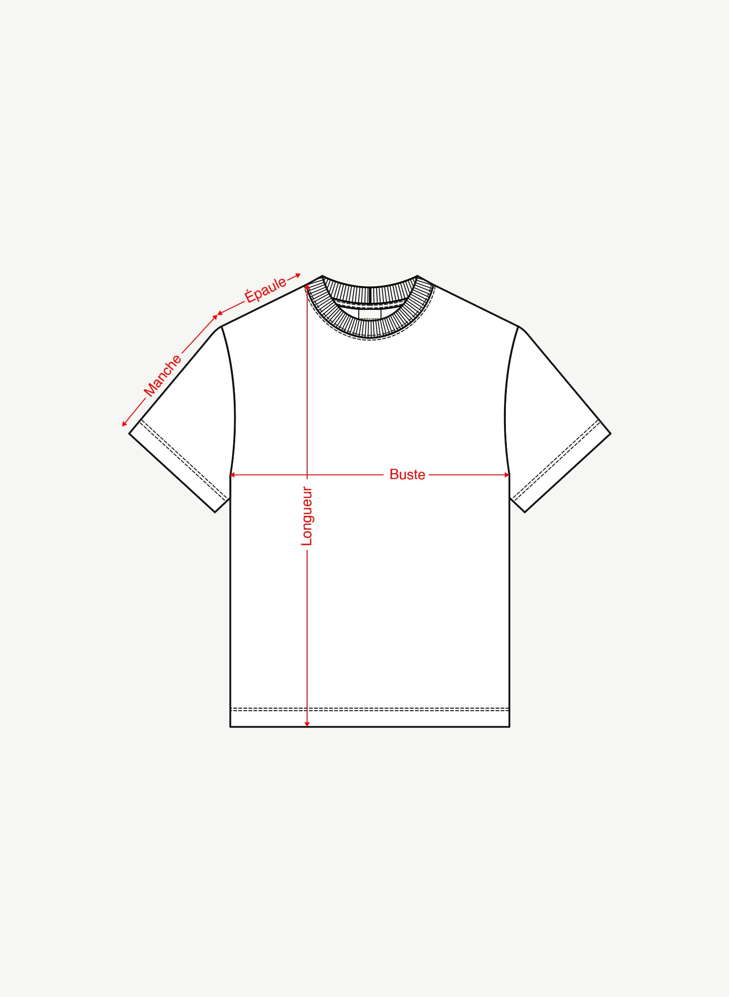 T-shirt manches courtes - Short sleeves