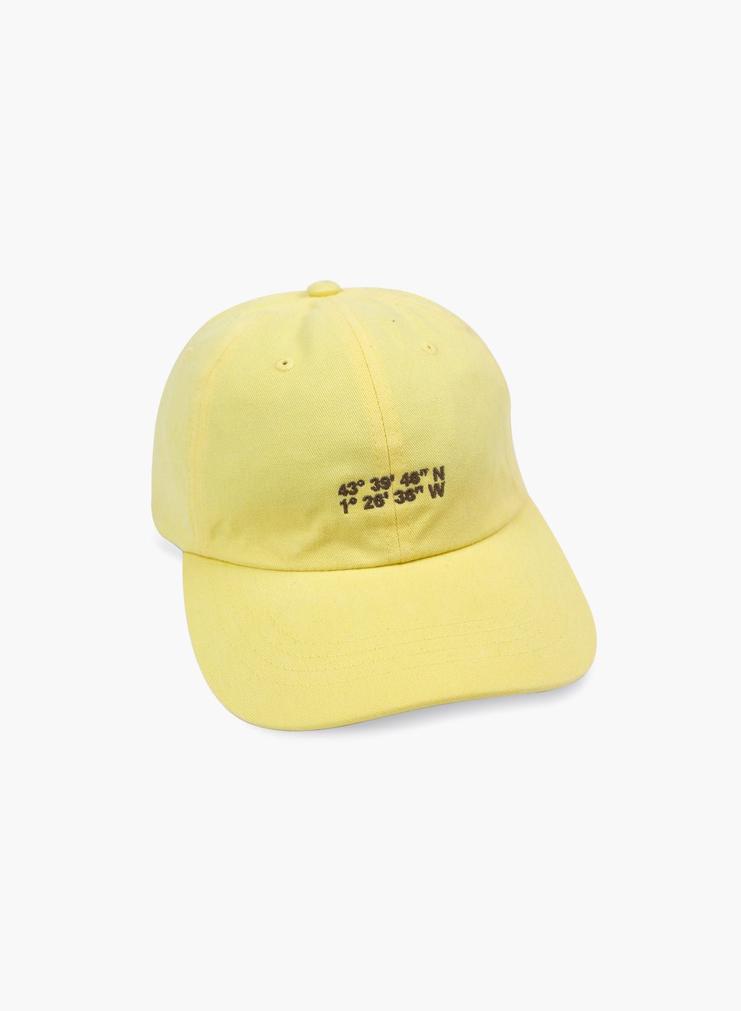 "Cap ""Coordinates"" - Yellow"