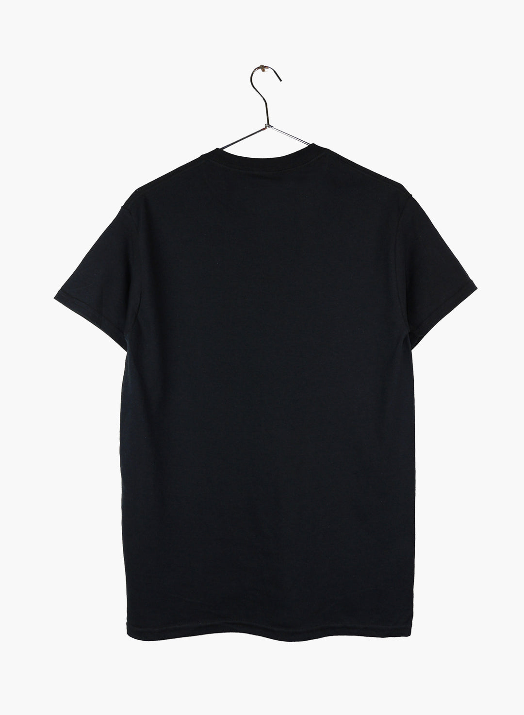 Surfin Estate black t-shirt with coordinates logo.