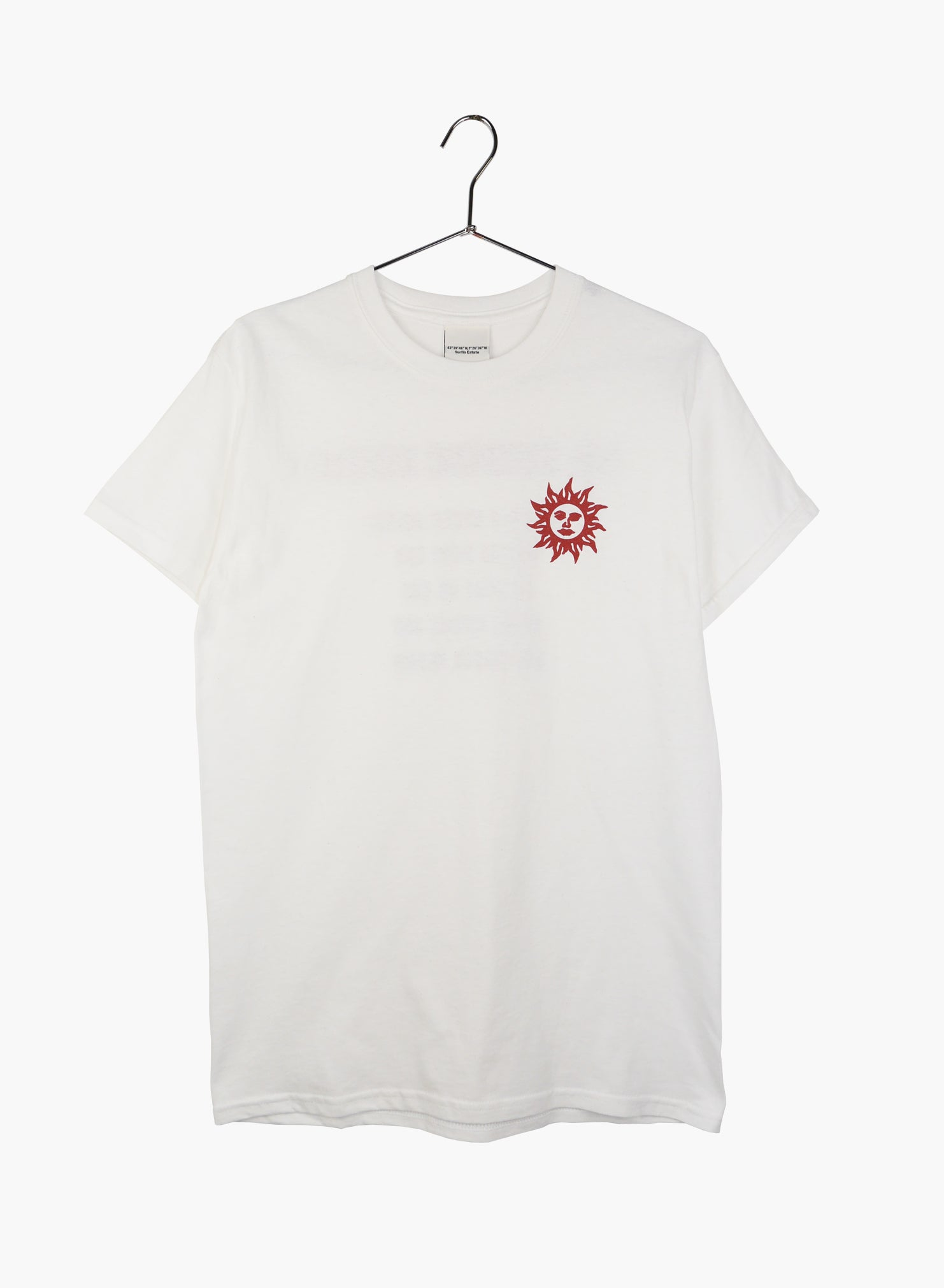 "T-Shirt MC ""Sunshine Makers"" - Blanc"