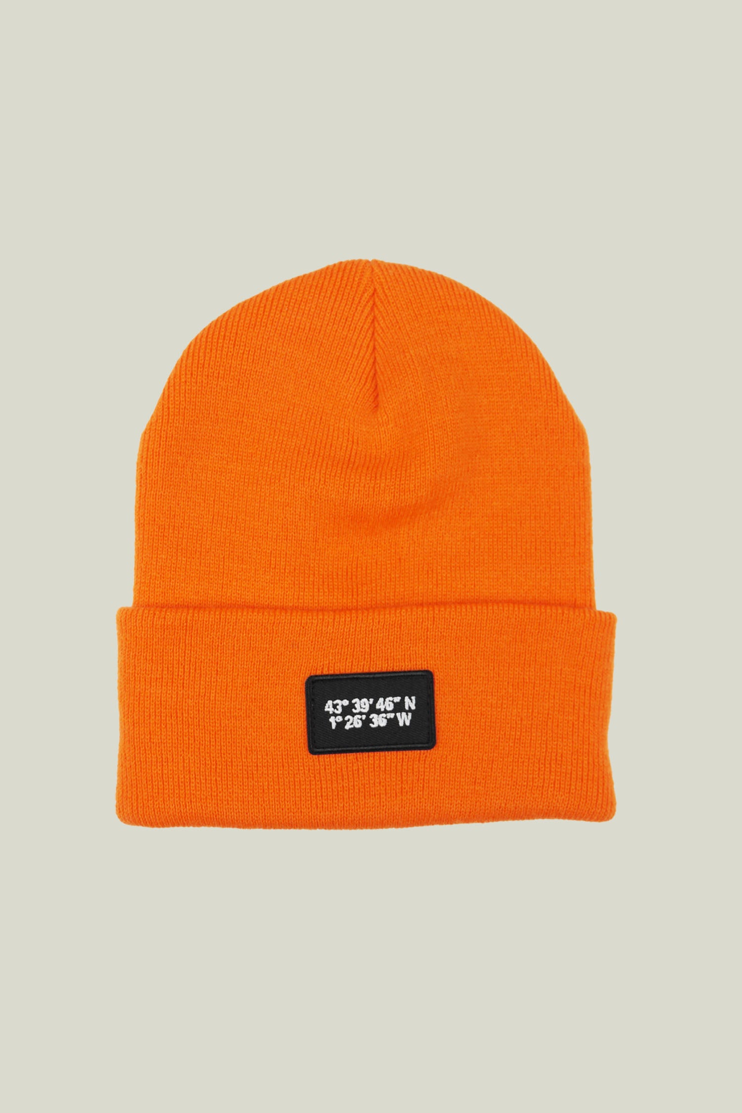 "Bonnet ""Cold Morning"" - Orange"