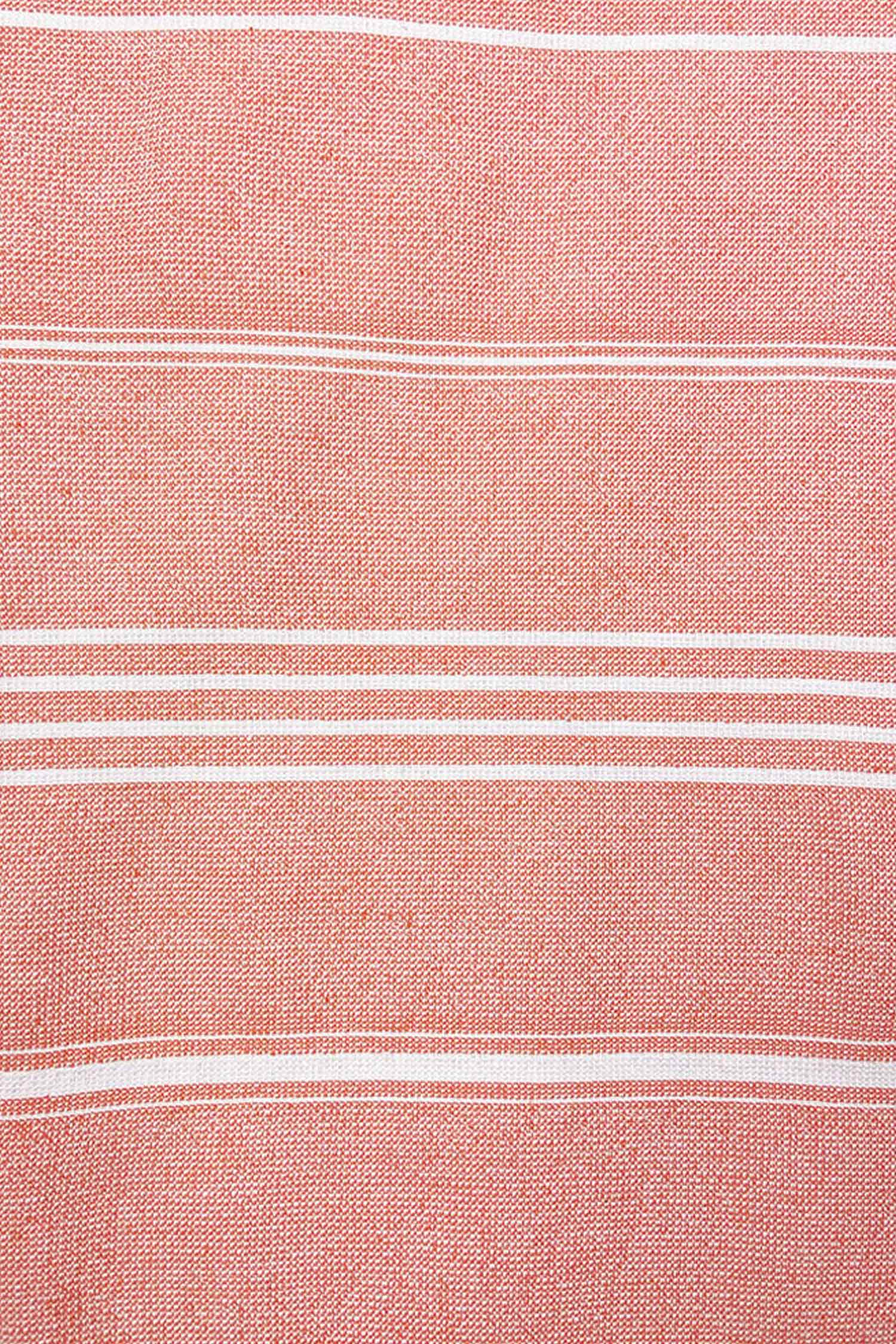 "Serviette ""Fouta"" - Rose Saumon"