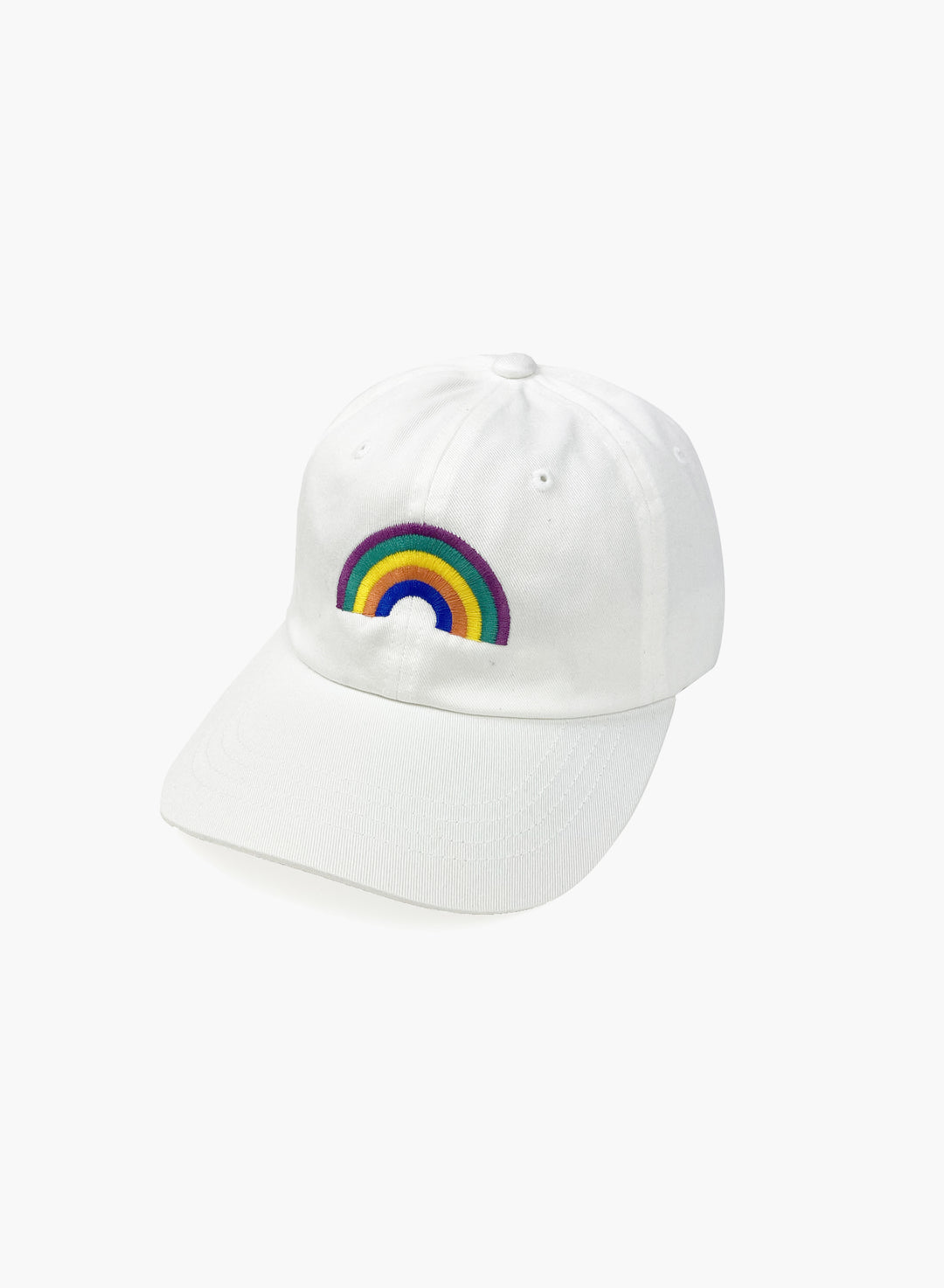 "Cap ""Rainbow"" - White"