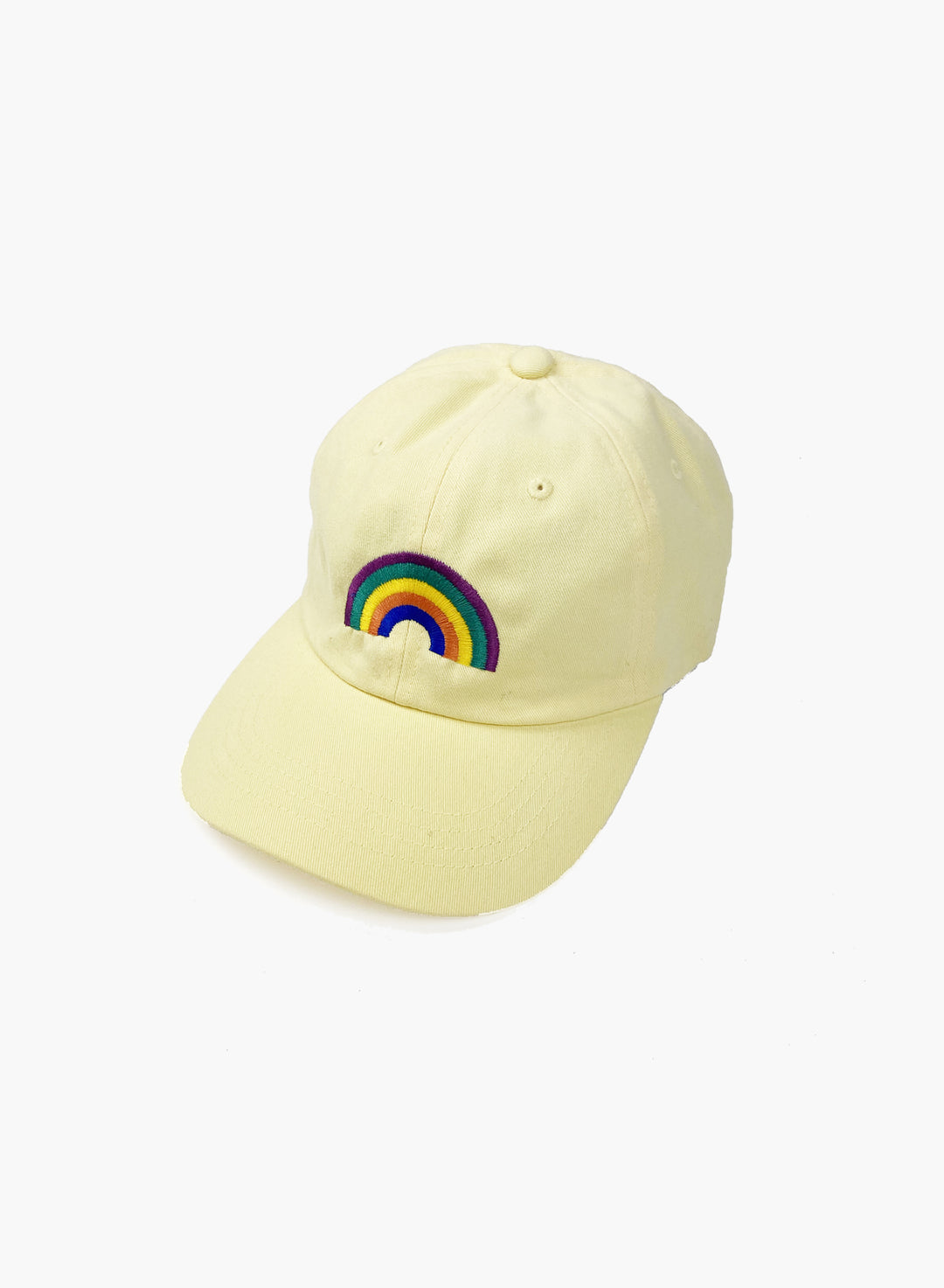 "Cap ""Rainbow"" - Yellow"