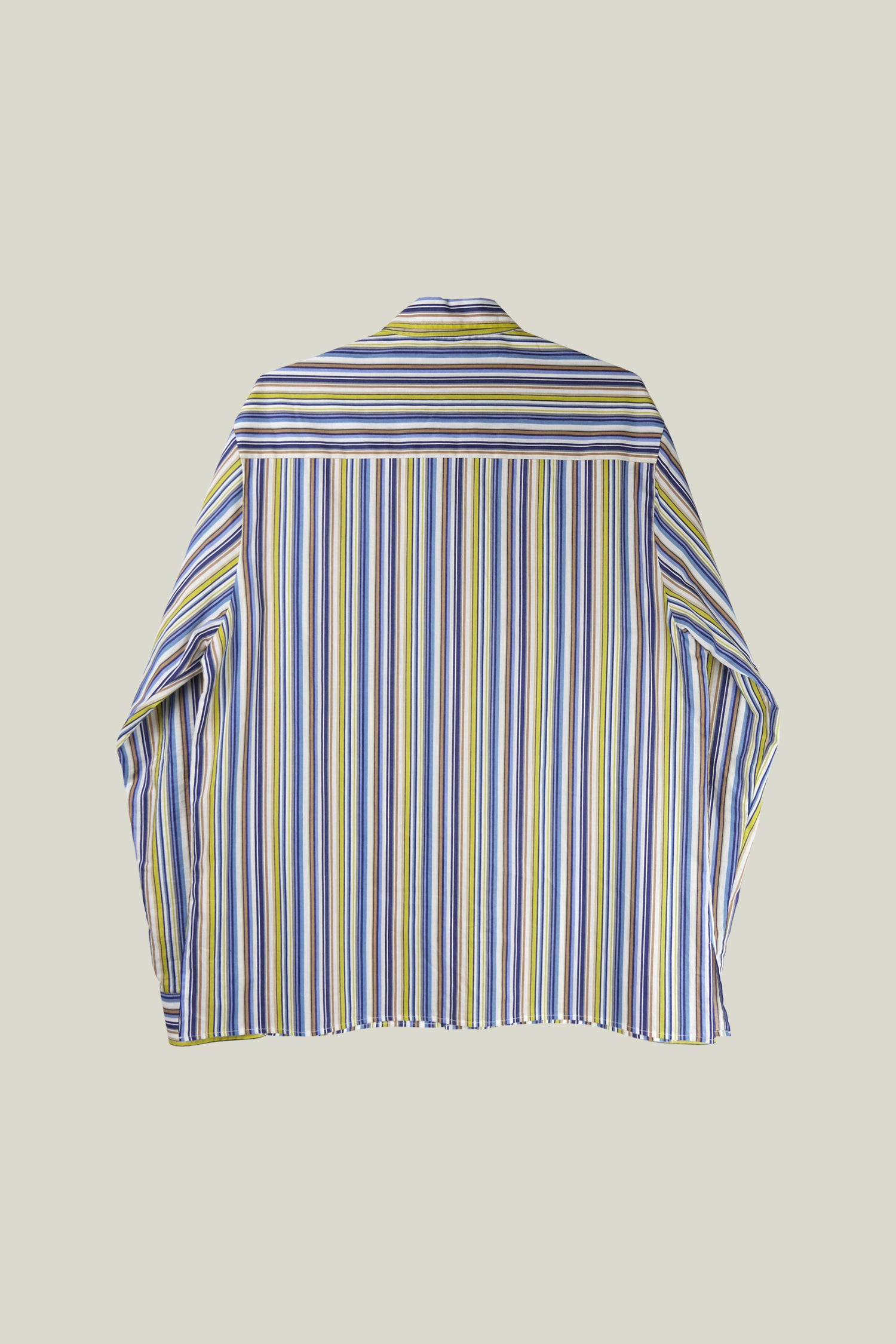 Striped shirt for summer, 100% cotton.
