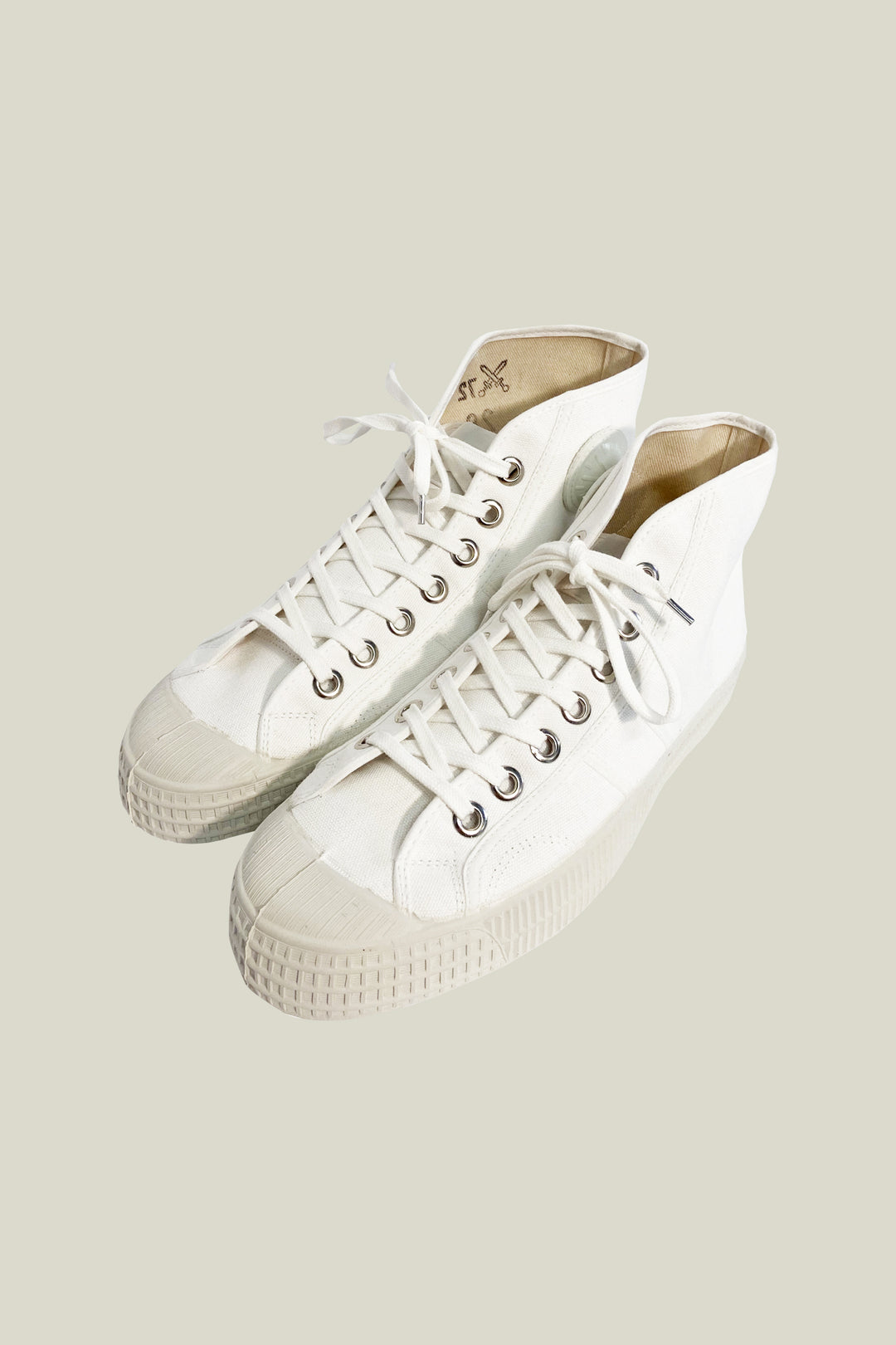 "Basket ""Trainers"" - Blanc"