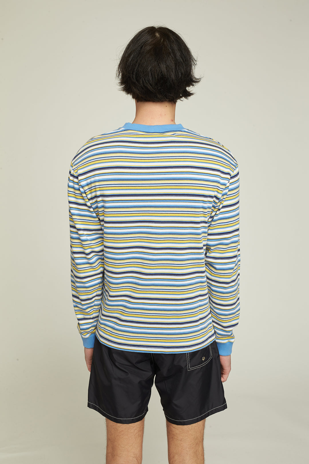 "T-Shirt LS ""Koolbreeze"" - Striped"
