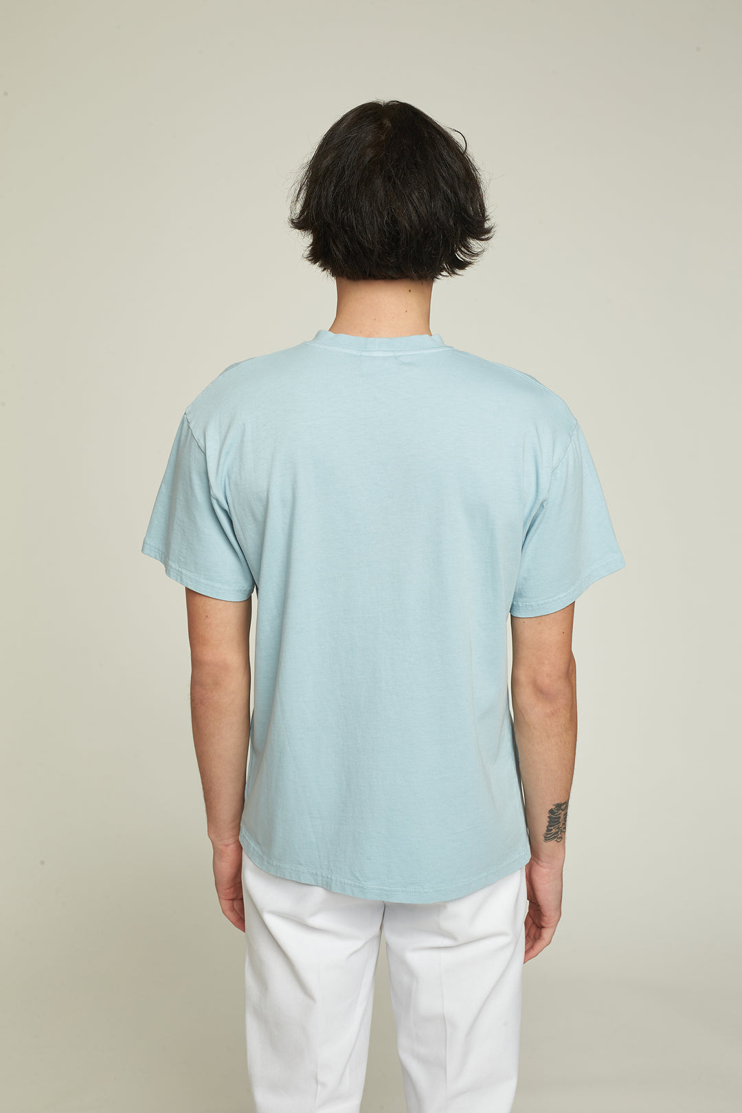 "T-Shirt SS ""Rainbow"" - Sky Blue"