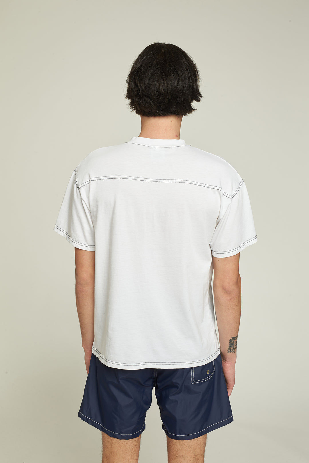 "T-Shirt MC ""Dawn Patrol"" - Blanc"
