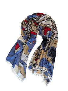 Luxury Handwoven Silk Scarves