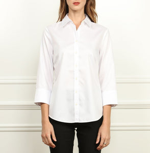 Clarice Luxe Cotton Classic Fit Shirt