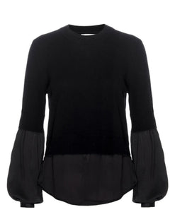 Ebbi Layered Crew Sweater