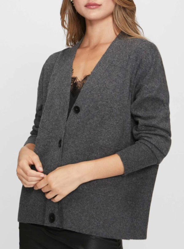 Looker Cardigan w Lace Cami