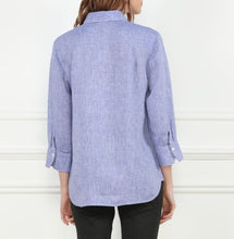 Load image into Gallery viewer, Meghan Luxe Linen 3/4 Sleeve Relaxed Fit Shirt