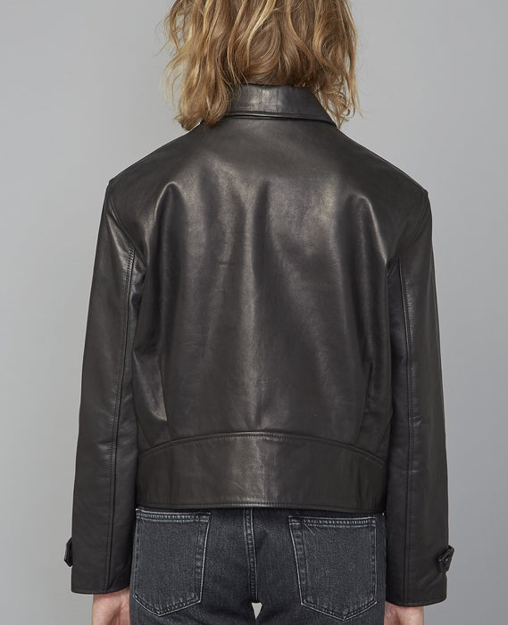 OFFICINE GÉNÉRALE PATTI LEATHER JACKET