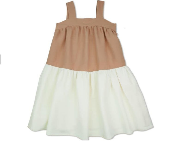 Vivi Dress-Clay/Rose
