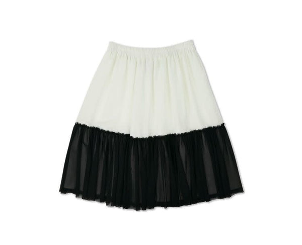Ryan Skirt-White/Black