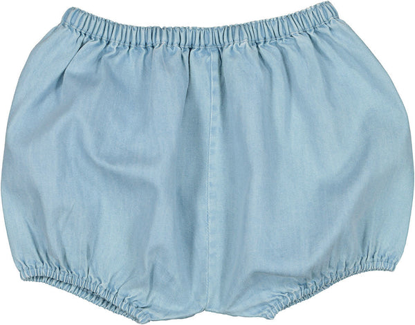 Baby London Chambray Bloomers (Sizes 6M-2Y)