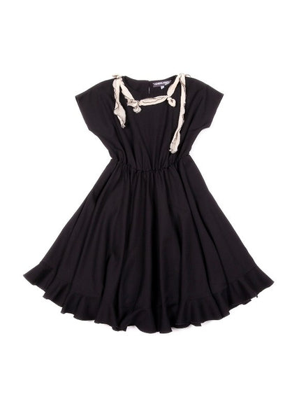 Venera Arapu DAPHNE DRESS-Black