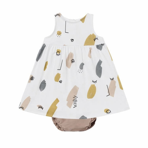 BabyClic Twin Dress & Bloomer