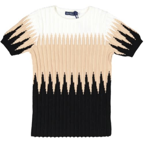 Ombre Ribbed Knit