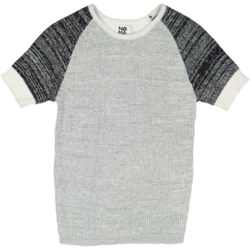 MULITCOLORED RAGLAN KNIT
