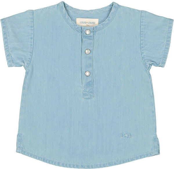Kids Solal Chambray Top