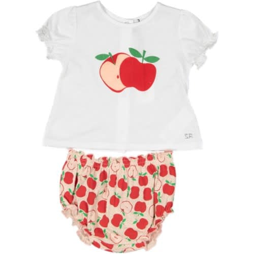 Sonia Rykiel Apple Baby set-Last pc 6M
