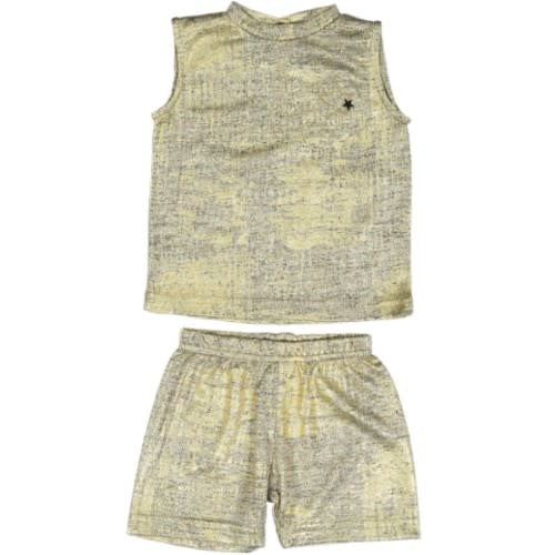 Taboo Gold T-shirt Tank Set