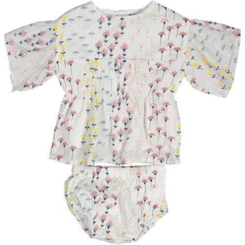 With Love Angelic Flower Printed Bloomer Set